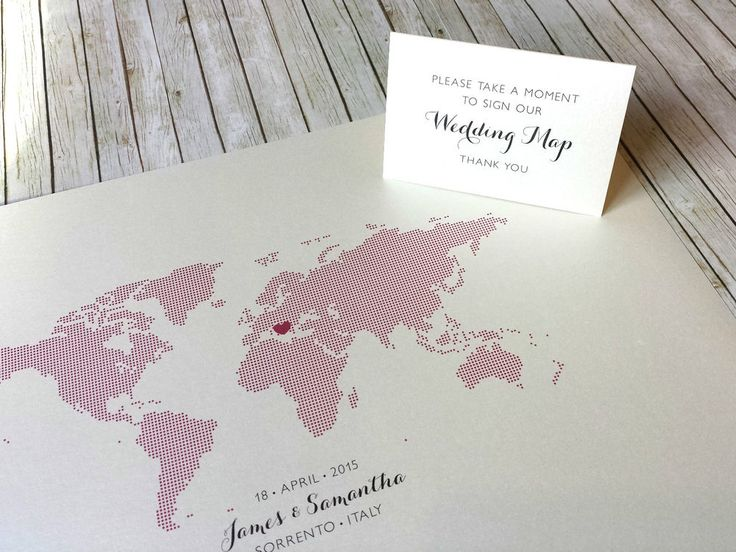 7 best wedding guestbook images on pinterest traveling book and world map wedding guest book alternative destination wedding signing poster gumiabroncs Images