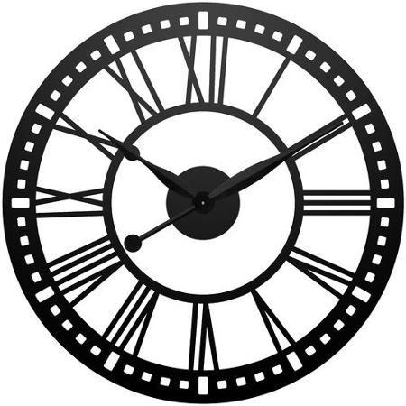 Infinity Instruments Abbey 38u0027u0027 XXL Wall Clock. Black Wall ClocksBig ...