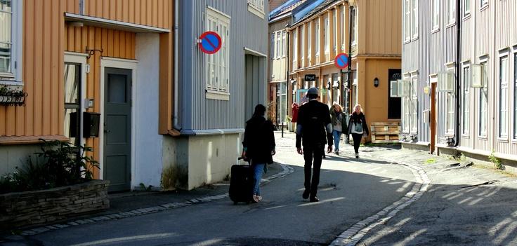 Urban living at Bakklandet.