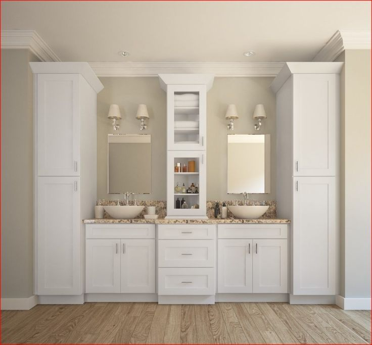 22 Relaxing Bath Spaces With Wooden Bathroom Cabinets Kamar