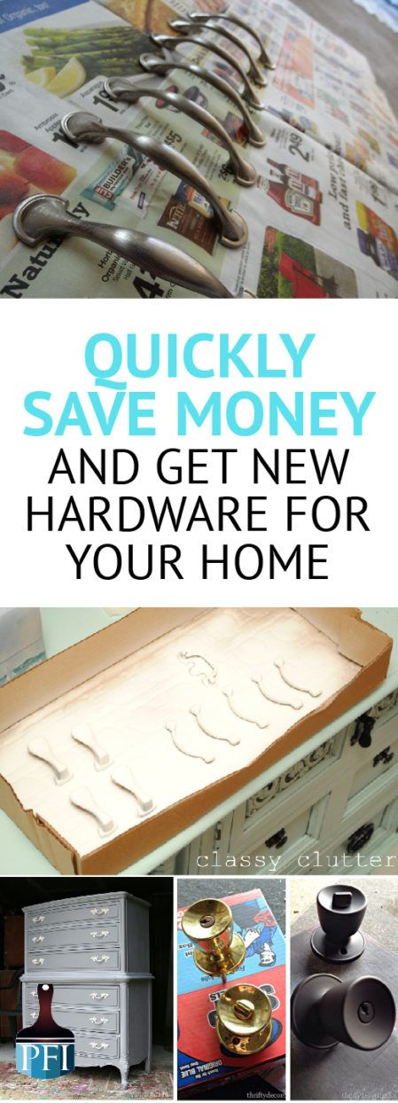 Easily update your hardware without spending a fortune on door knobs and handles. Repaint your hardware and find out how to do it correctly.