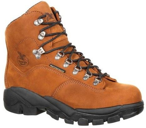 "Georgia Boot Men's GB00205 6"" Suspension System Hiker WP Work Boot"