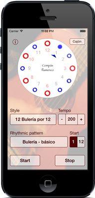 Compas flamenco - The flamenco metronome