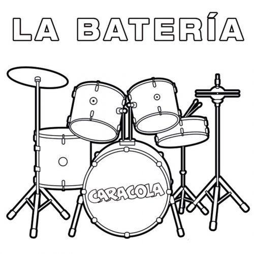 Dibujos para colorear baterias musicales - Imagui