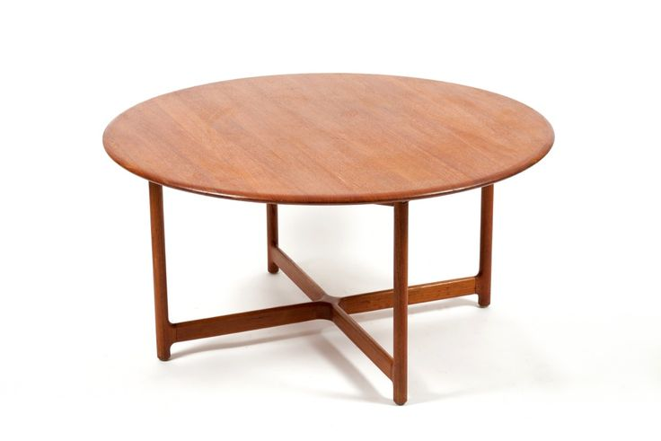 utopiaretromeodern.com - designer: Arne Halvorsen, produsent: Rasmus Solberg, periode: c. 1960, Kaffebord i massiv teak. Tildelt norsk