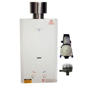 eccotemp eccotemp l10 portable gas water heater w flojet pump u0026 strainer