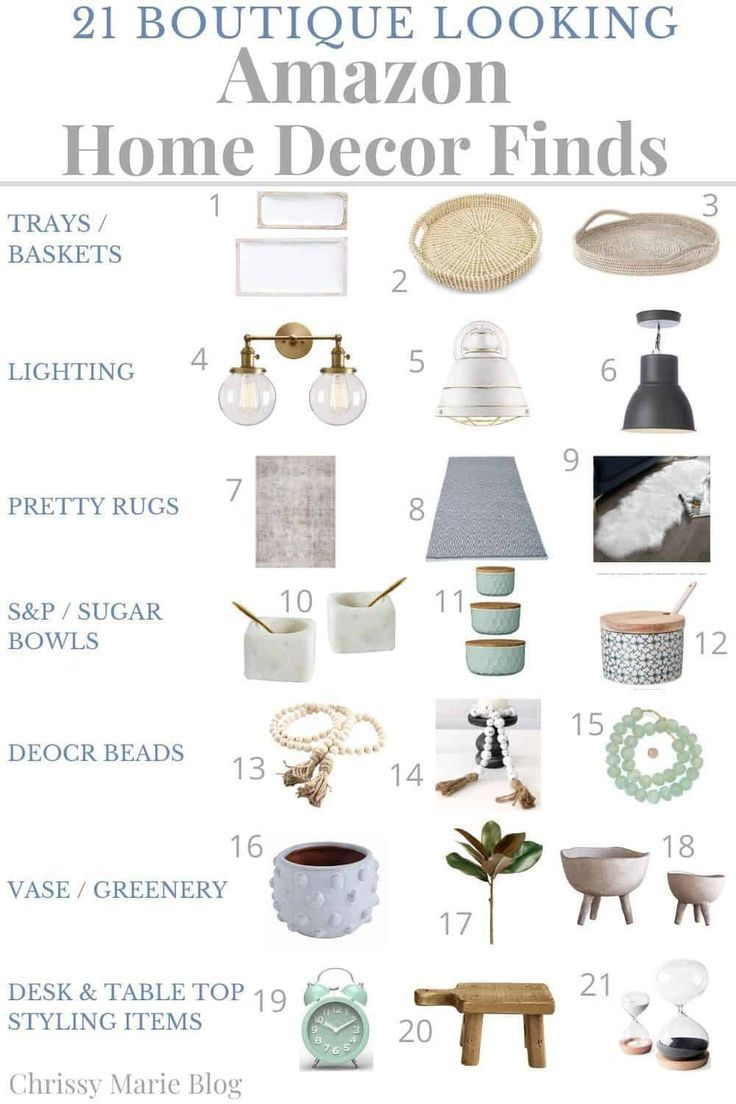 21 Boutique Inspired Amazon Home Finds Amazon Home Decor Amazon Home Amazon Decor