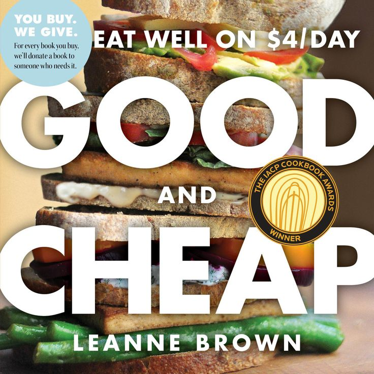 Giveaway! Good and Cheap Cookbook - Eat Well on $4 a Day #budget #realfood #giveaway
