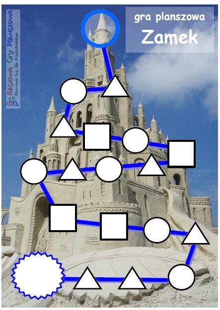 Zamek - plansza do gry