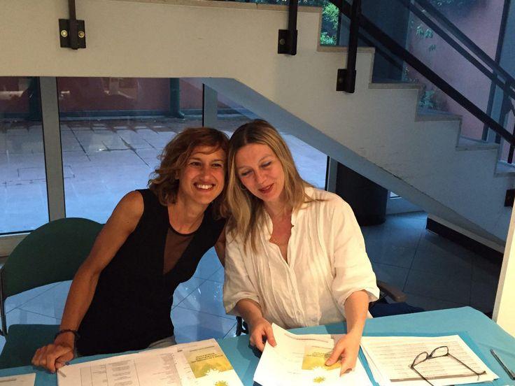"""Le nostre bellissime """"Laura e Chiara"""" di Aspeera alla conferenza """"Il potere nel respiro"""""""