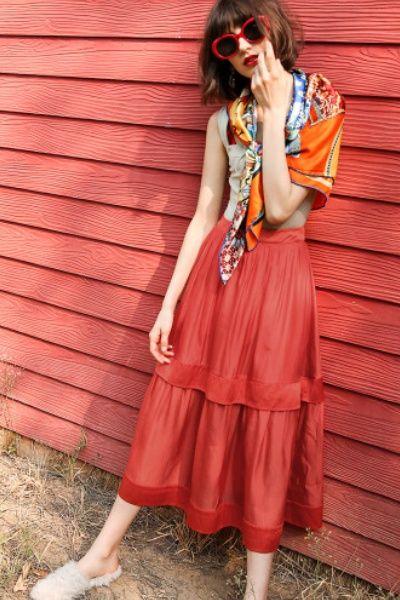 STH High Waisted Skirt