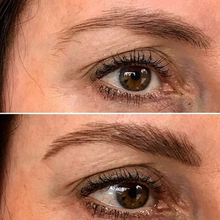 Eyebrows before (top) and after (bottom) by Pilar at www.byrdeandtheb.com #eyebrows #beauty #makeup #hair #salon #style #litchfieldhills #nyc #goodvibes #smile #happy #love #fashion