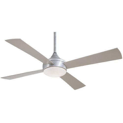 """Found it at AllModern - 52"""" Aluma 4 Blade Wet Ceiling Fan with Remote"""