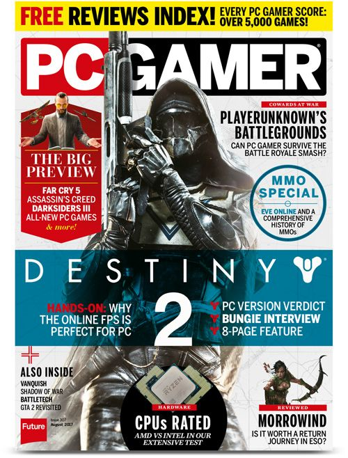 Check out the Latest Issue of PC Gamer Magazine by subscribing to My Favourite Magazines: