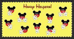 disney bulletin board borders | Disney Themed Classroom Helpers and Classroom Management Bulletin ...