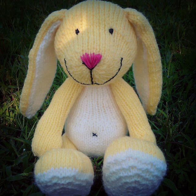 zsutta: Kötött nyussz Handknitted bunny