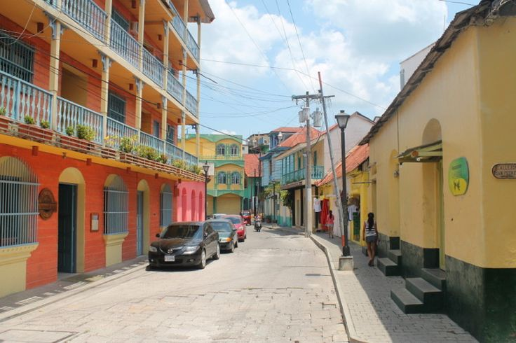 Colourful buildings in Flores, Guatemala #DreamHolidayContest
