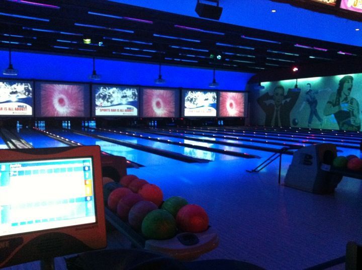 Bowling, pool tables, and an arcade!