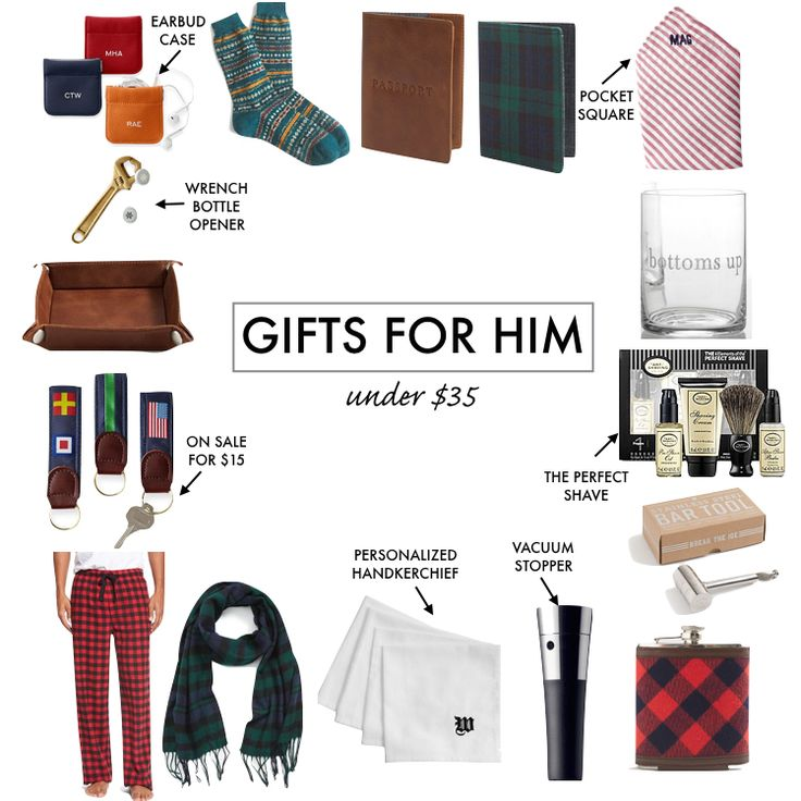 Holiday Gift Guide for Him: Under $35 - A Southern Drawl