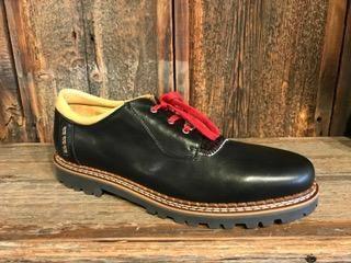 Ammann Men's Meiringen Shoe in Black Leather