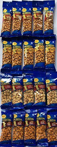 Planters Peanuts Single Serve Variety Pack 20 Count/4 Flavors 1.75oz * More forbidden discounts at the link of image : baking desserts recipes