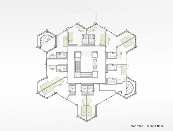 16 best treehouse floor plan images on pinterest disney for Cube house design layout plan