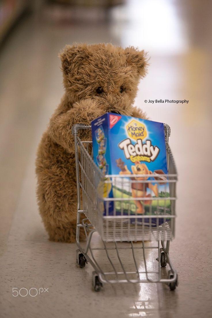 Teddy B Went Shopping - Teddy B went shopping and found some Teddy Grahams.