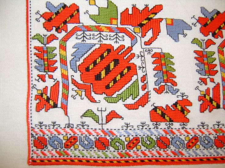 """""""Pomegranate"""" Motif from chemise sleeve embroidery"""