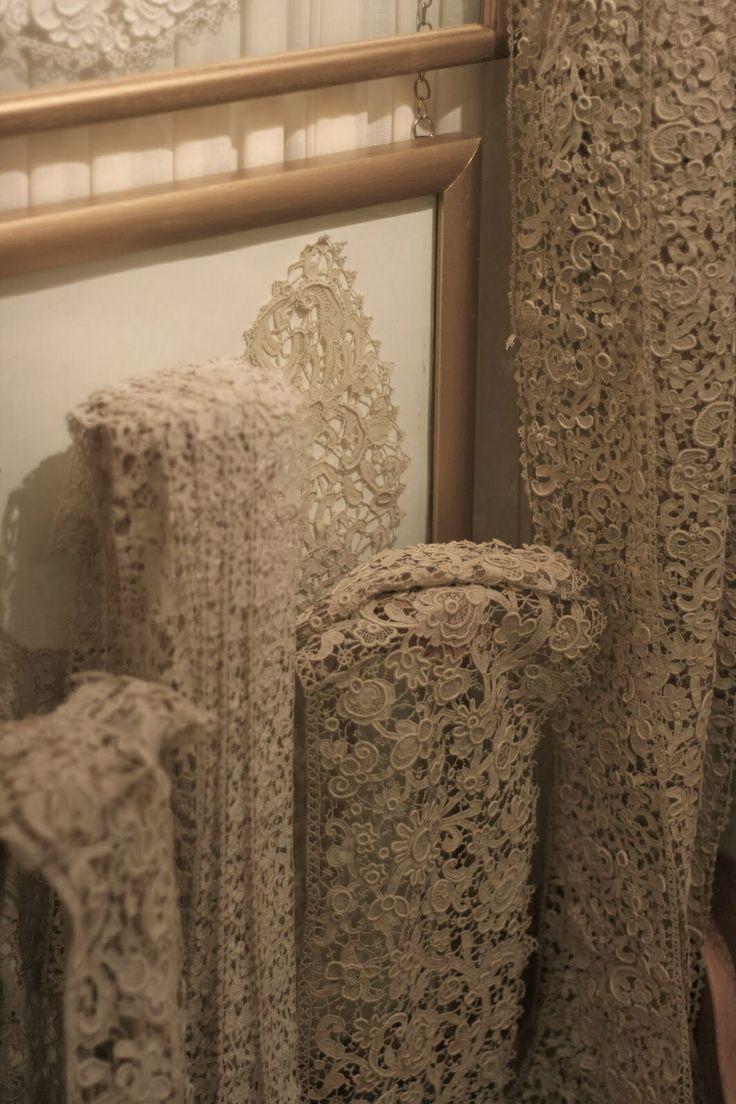 The Sheelin Antique Irish lace Museum Inishmacsaint Lace