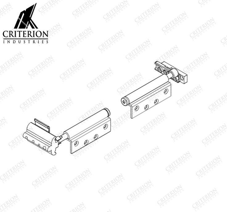 Atlantic Bi-Fold Adjustable Pivot Set