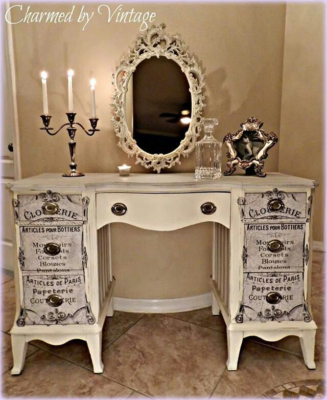 25+ Best Ideas About Shabby Chic Vanity On Pinterest
