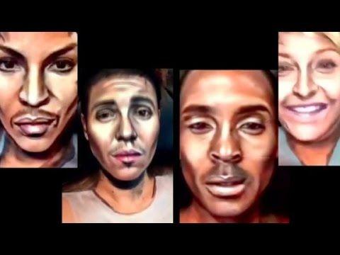 Amazing celebrity makeup transformations