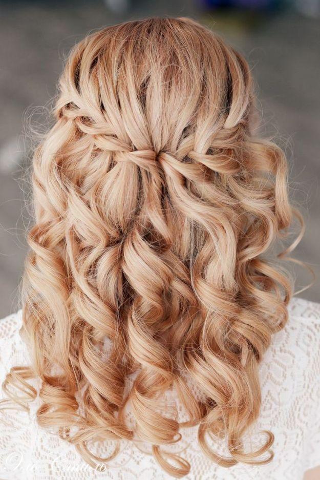 Прическа водопад - оригинальный вариант  ::: onelady.ru ::: #hair #hairs #hairstyle #hairstyles