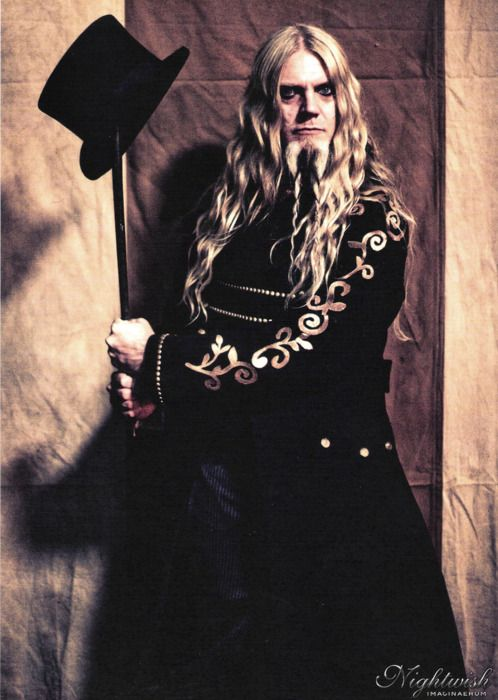Hairspiration: Guitarist Marco Hietala of Nightwish and Tarot. Got to love those long waves (and the Viking beard).