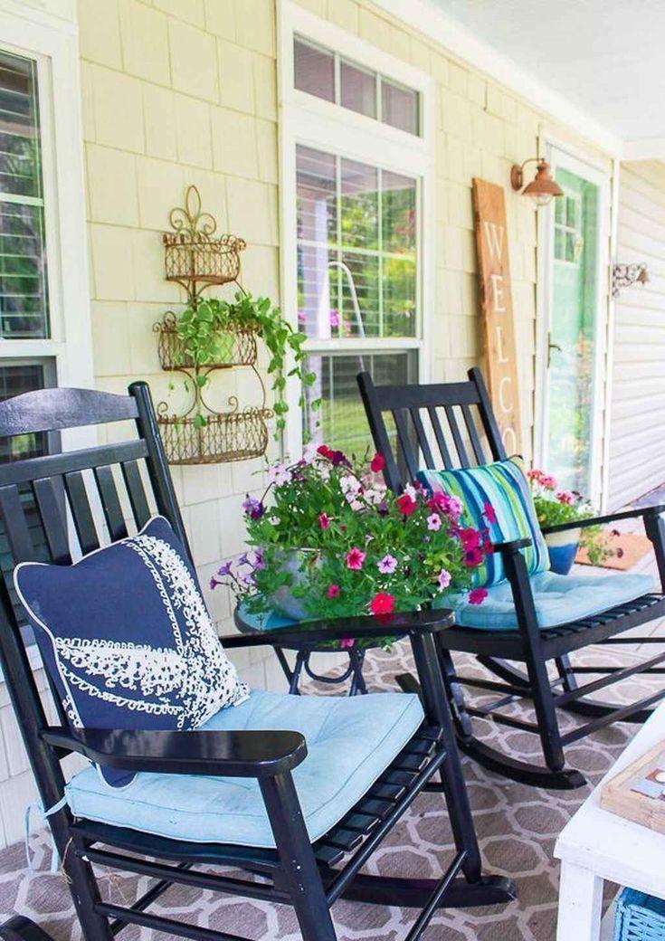 85 summer front porch decor ideas structhome
