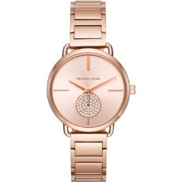 Michael Kors Rose Plated Portia Watch (001-019-04166)