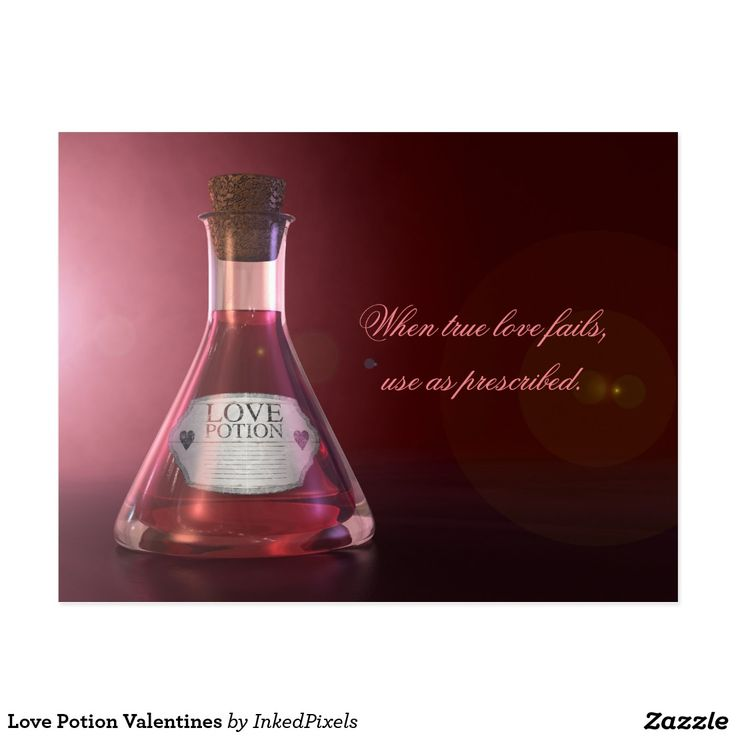 Love Potion Valentines