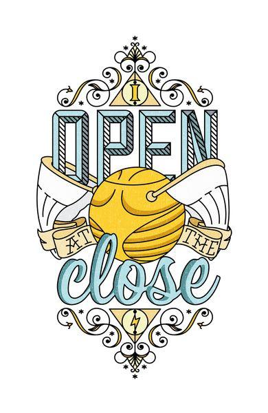 Harry Potter – I Open At The Close Art Print