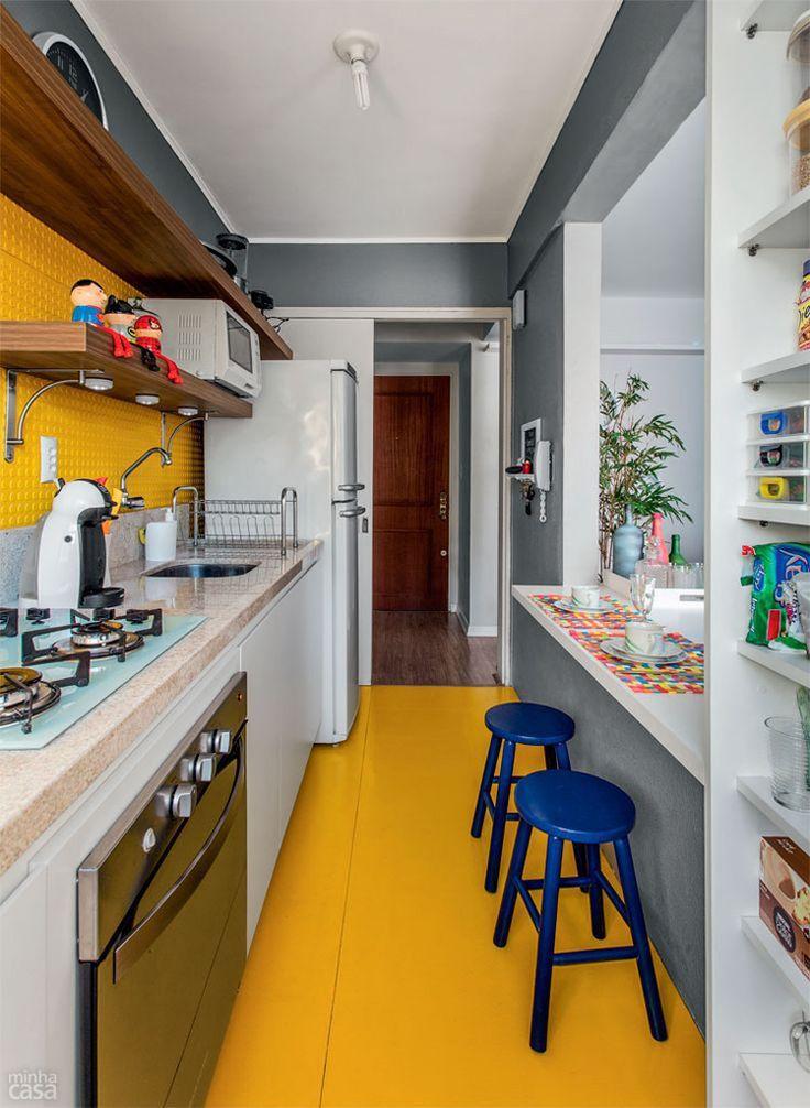 10 cozinhas tipo corredor selecionadas pelo Simples Decoração - Casa
