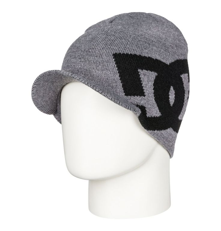 dcshoes, Big Star Visor - Gorro, Anthracite (kvj0)