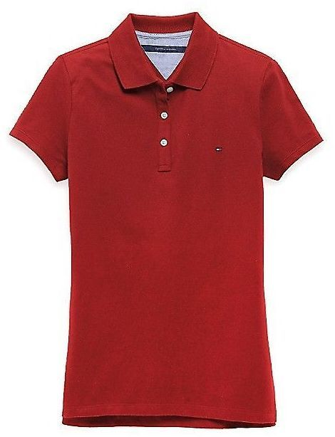 Details About Tommy Hilfiger Women's Heritage Fit Polo