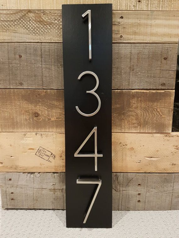 Hey, I found this really awesome Etsy listing at https://www.etsy.com/listing/449120316/house-number-plaque-house-number-address