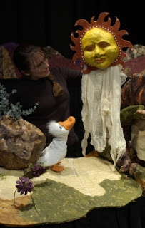 """Barefoot Puppet Theatre's """"Dreamtime: Tales from Down Under,"""" at the Puppet Showplace Theatre (December 2012) #puppetshowplace #puppetry #Brookline"""