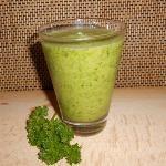 Groene Smoothie met Peterselie en Ananas - Lekker verfrissend op warme zomerdagen & supergezond