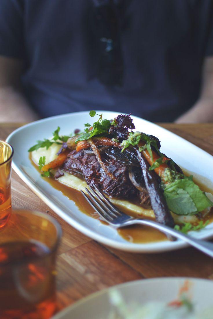 12-hr slow braised beef cheeks at Roastville Coffee, Marrickville - feature by heneeedsfood