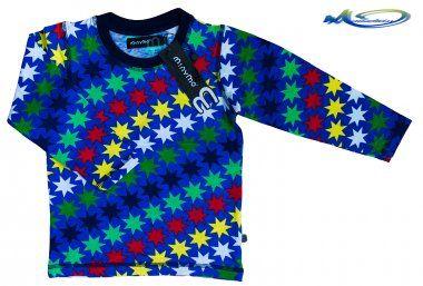 Minymo Langarmshirt Sweatshirt Ronny138 bunt sterne
