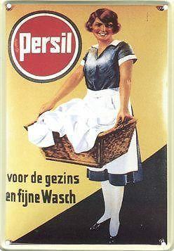 ≥ Persil gebold blikken bord  - Merken en Reclamevoorwerpen - Marktplaats.nl