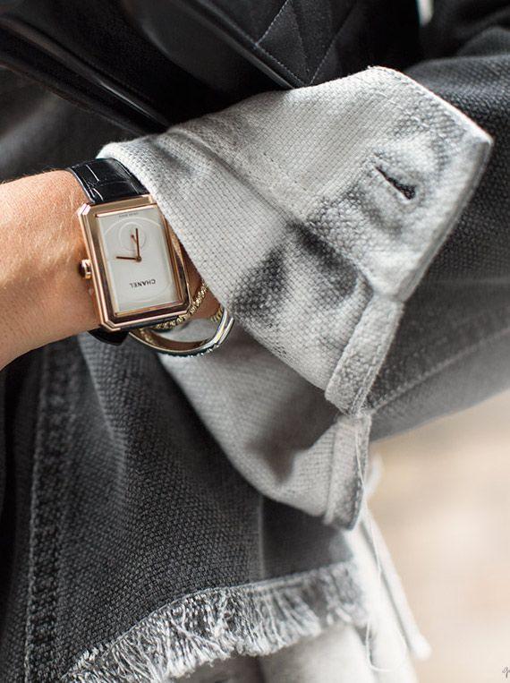 awesome Montre pour femme : Striking & Simple / Chanel Watch / Garance Doré...