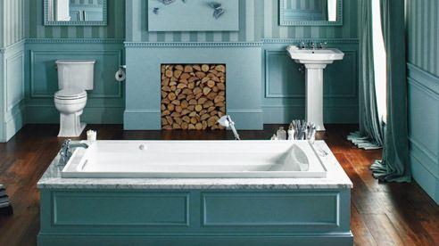 69 best 1920 bathroom images on pinterest bathroom bathrooms and bathroom ideas for Craftsman style bathroom fixtures