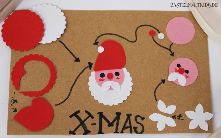 die besten 25 bastelvorlagen weihnachten weihnachtsmann ideen auf pinterest schneller. Black Bedroom Furniture Sets. Home Design Ideas